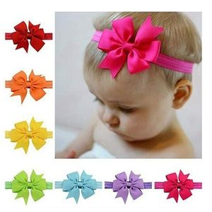 Other - Children Swallowtail Cloth Hair Bow Band 10 CT